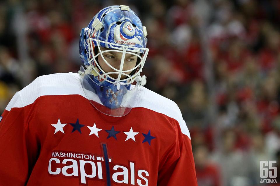 Pheonix Copleylle kuluva kausi on ensimmäinen vakituisena NHL-vahtina.