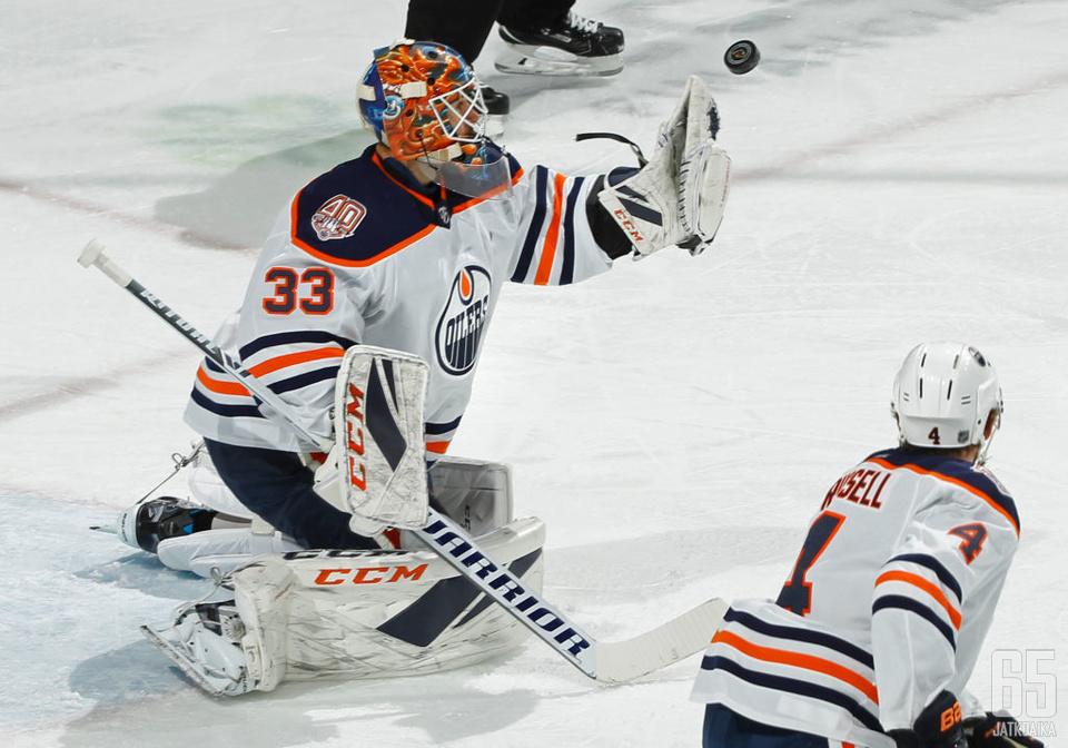 Cam Talbot siirtyy Calgary Flamesin maalille.