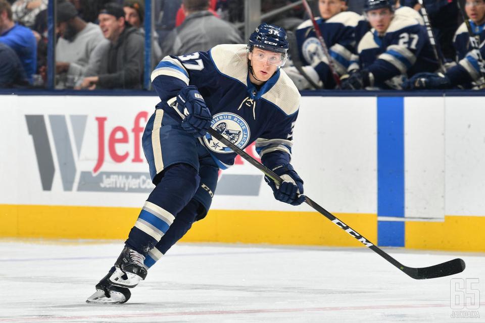 Hännikäinen on pelannut viimeisen neljän kauden aikana 91 runkosarjaottelua NHL:ssä.