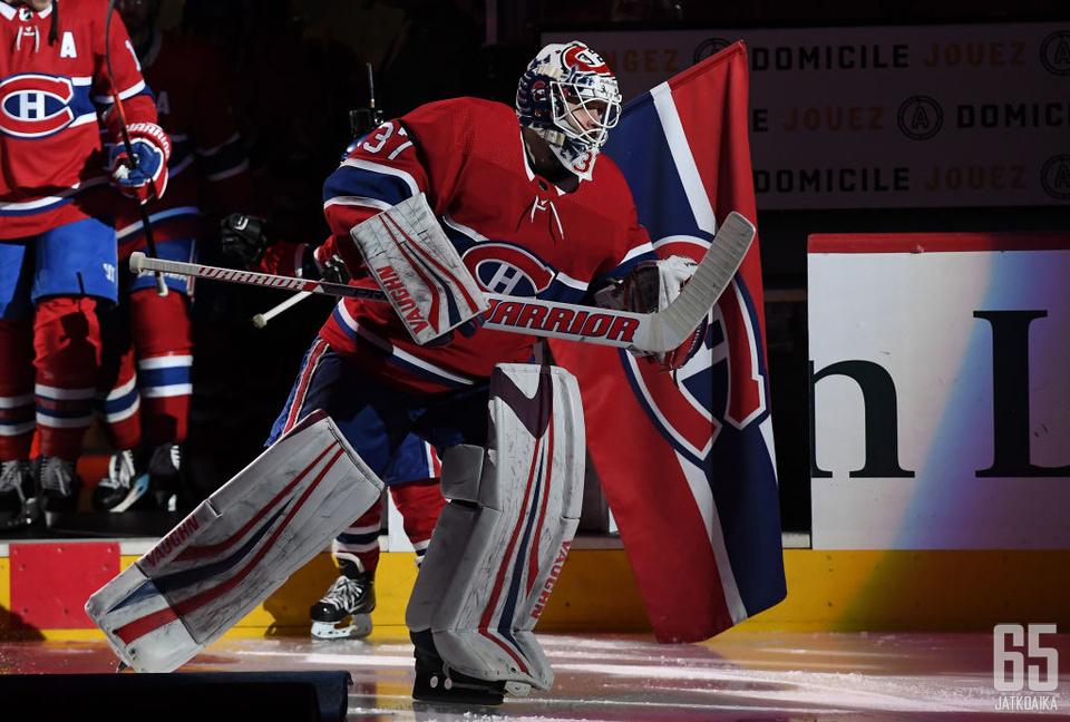 Viime kaudella Montreal Canadiensin paidassa pelannut Antti Niemi tuo Jokereiden maalinsuulle yli 500 NHL-ottelun kokemuksen.