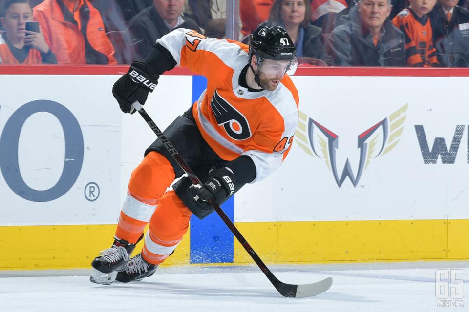 Andrew MacDonaldin aika Flyersissa tuli päätökseen.