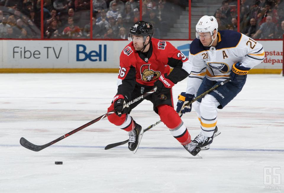 Colin White on pelannut NHL-urallaan toistaiseksi vajaa 100 ottelua.