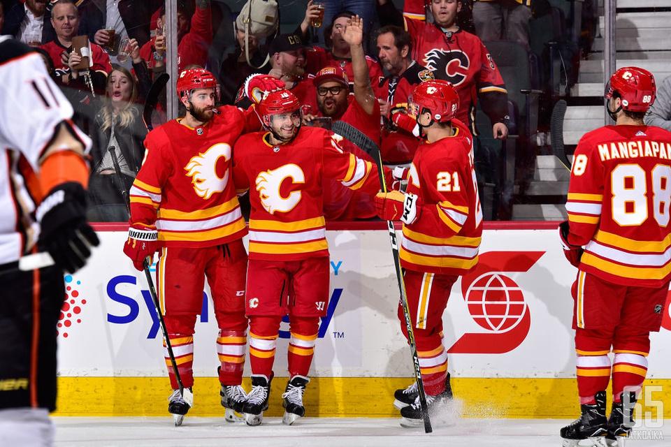 Calgary Flamesilla on rahkeita edetä pudotuspeleissä pitkälle.