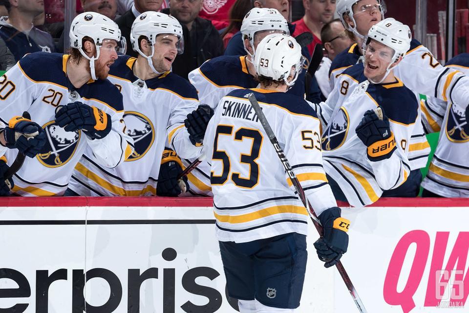 Skinner teki päättyneellä kaudella ensimmäistä kertaa NHL-urallaan 40 maalia.