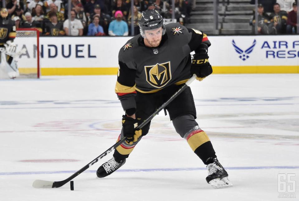 Miller on pelannut Golden Knightsissa NHL-uransa tehokkaimmat kaudet.