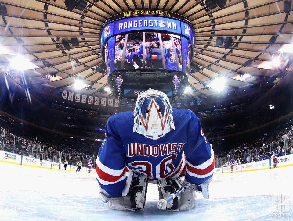 Henrik Lundqvistin edustama New York Rangers  ei ole juhlinut viime vuosina jäällä, mutta kabineteissa sitäkin enemmän.