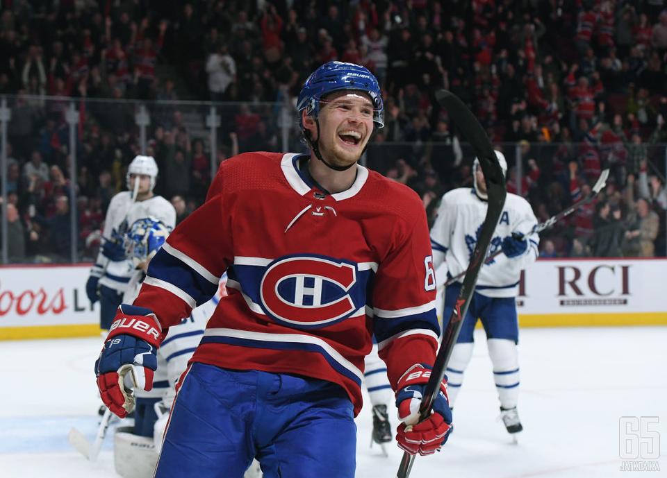 Artturi Lehkosen NHL-ura jatkuu tutussa ympäristössä.