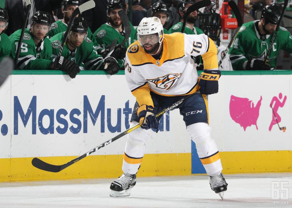 P. K. Subban on voittanut NHL:n parhaan puolustajan Norris Trophyn urallaan kerran.