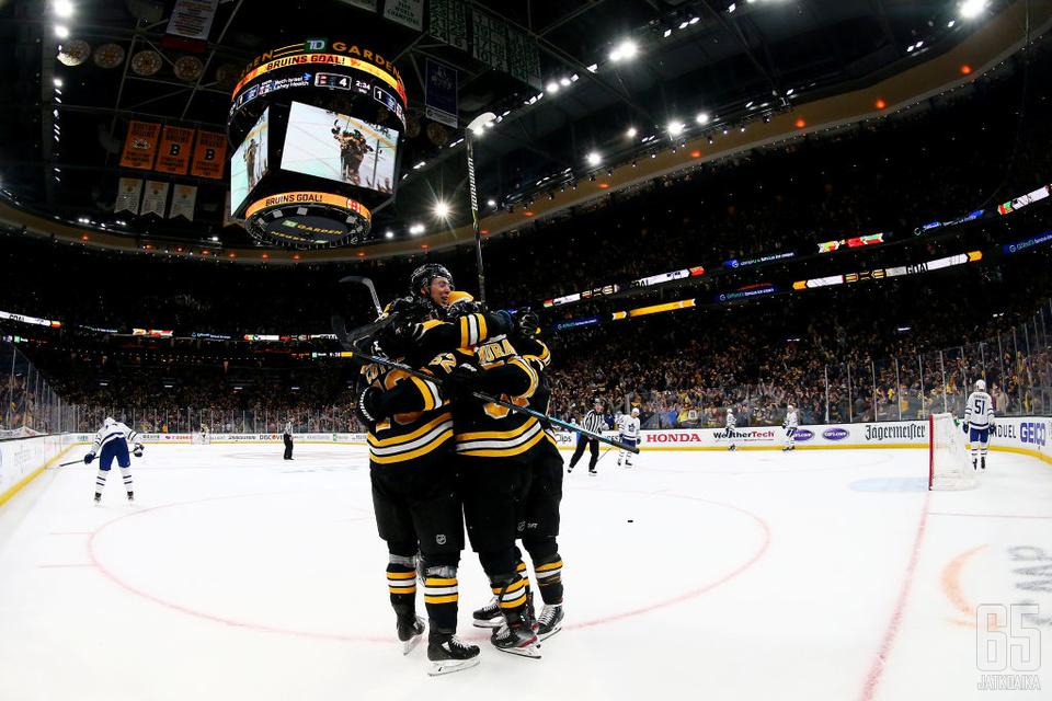 Bruins oli viime kaudella Stanley Cupin finaaleissa.