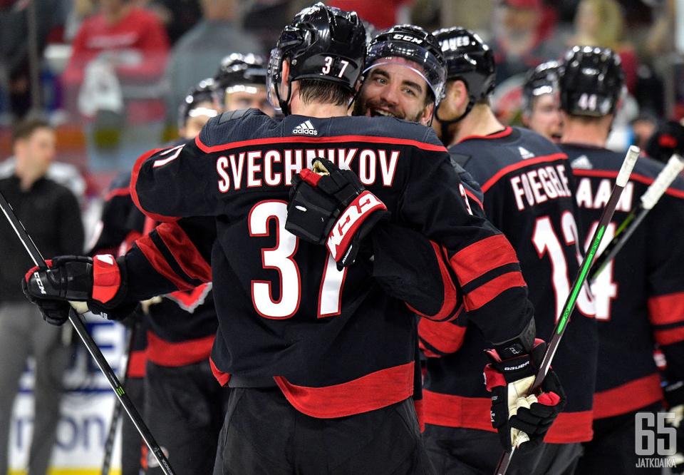 Andrei Svetšnikov sai kunnian tehdä historiaa viime yön kierroksella.
