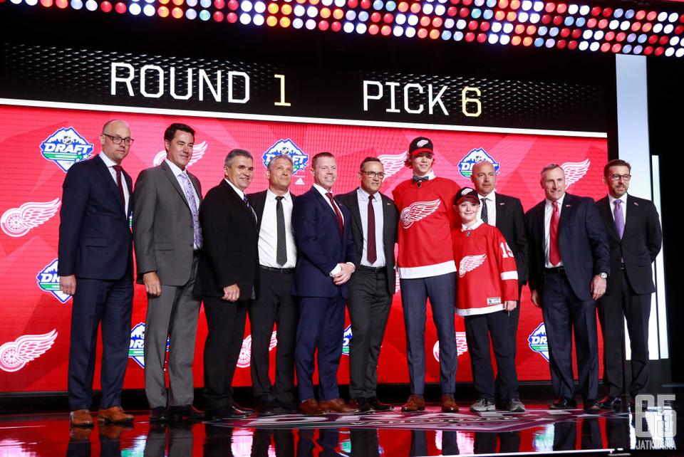 Moritz Seiderin varaaminen varaustilaisuuden kuudentena pelaajana oli iso pommi Detroit Red Wingsiltä.