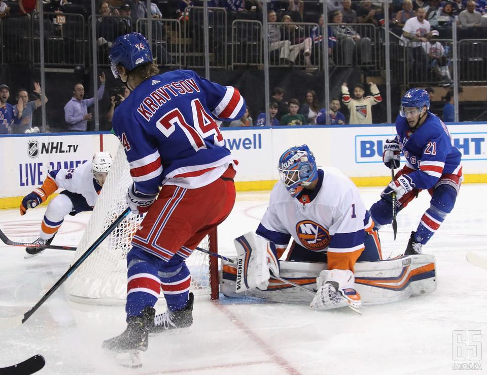 Vitali Kravtsovin tämän kauden NHL-näytöt jäivät näillä näkymin harjoitusotteluihin.