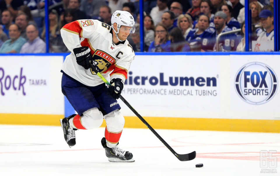 Aleksander Barkov on nostanut Florida Panthersin pudotuspeliviivan yläpuolelle tasaisessa Itäisessä konferenssissa.