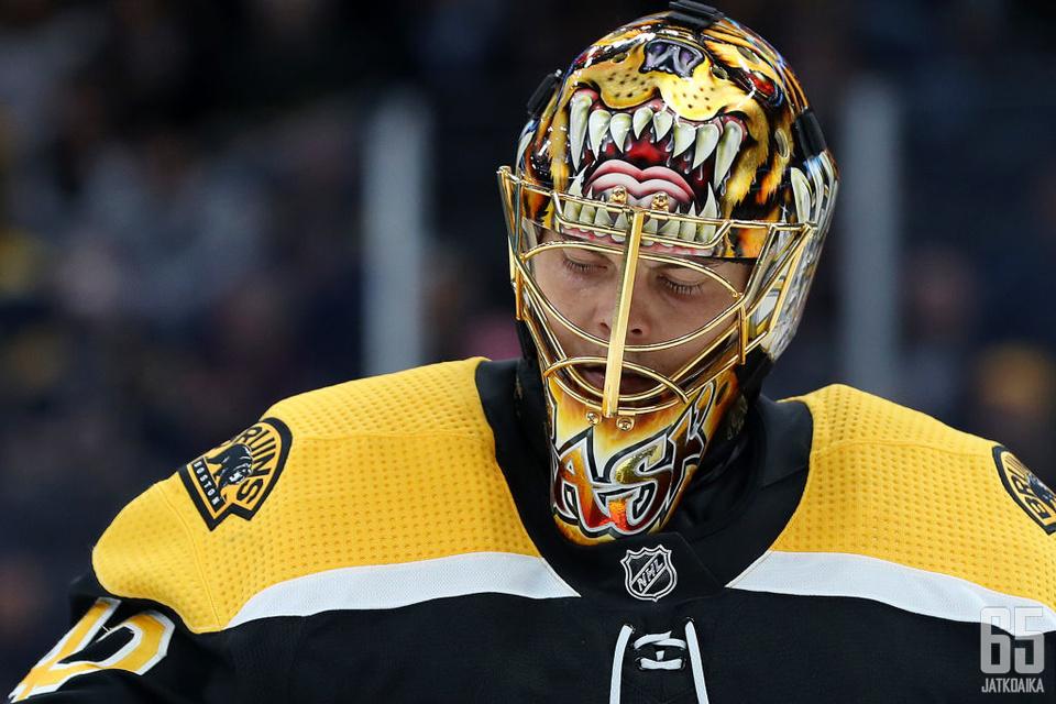 Rask astuu sivuun Bruins-veräjältä loppukaudeksi.