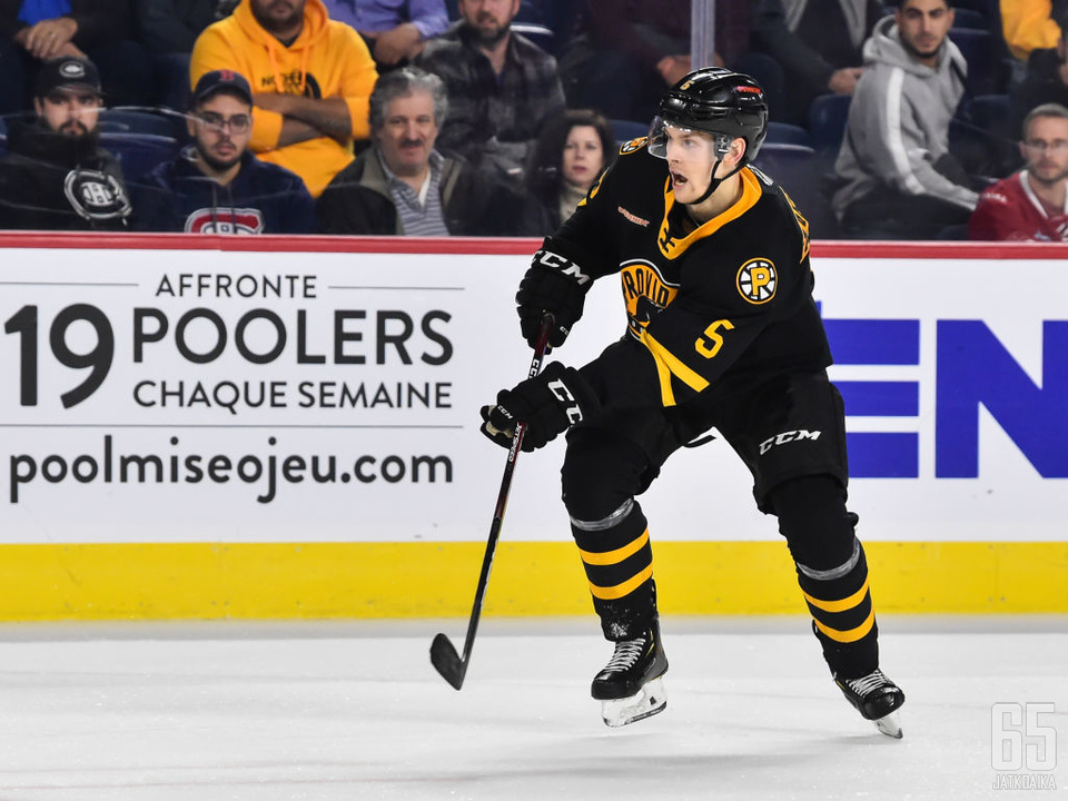 Vaakanainen nostettiin NHL:ään. Pelejä hänelle ei välttämättä silti kerry.
