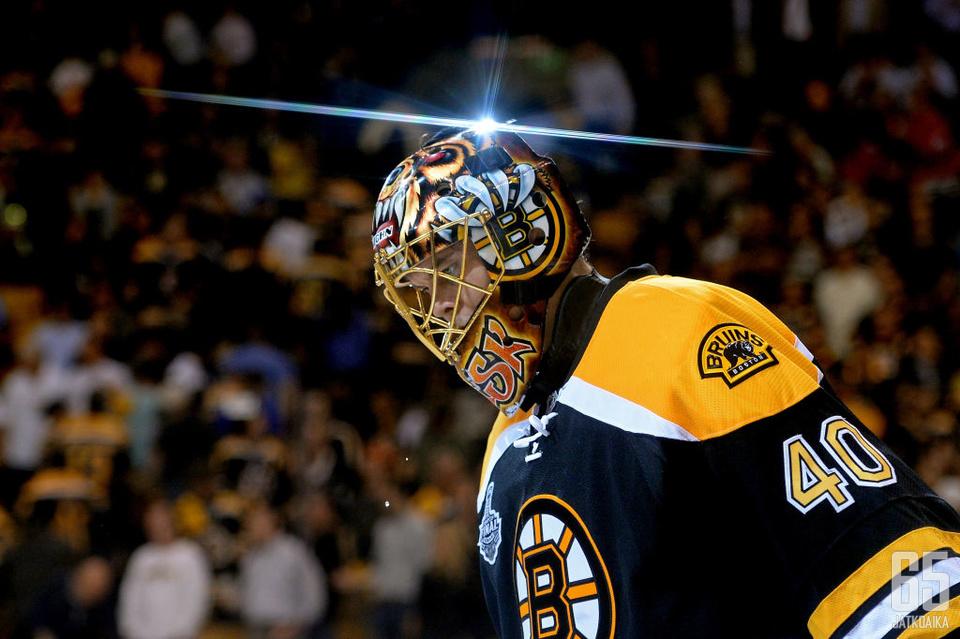 Raskin edustama Boston Bruins pelasi NHL:n finaaleissa viime kaudella.