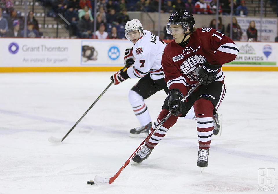 Stevens on kiekkoillut juniorivuosinaan OHLssä neljän kauden ajan.