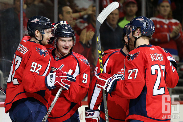 NHL-kausi on ollut runkosarjan osalta Washington Capitalsin juhlaa.
