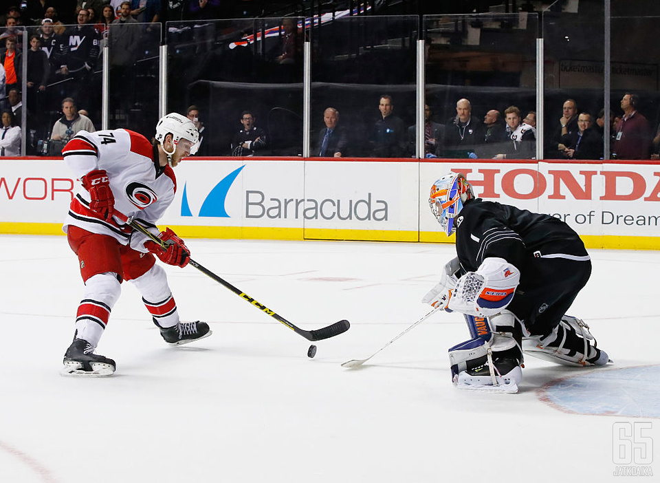 Slavinin otteet ensimmäisellä täydellä NHL-kaudella toivat pitkän jatkosopimuksen.