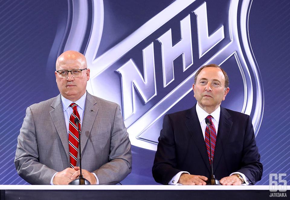 NHL julkisti päätöksensä maanantaina.