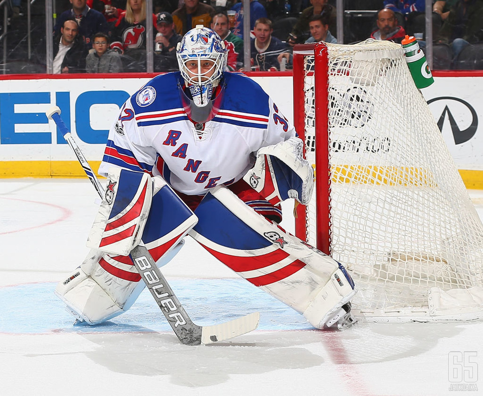 Raanta pelasi kaksi kautta Rangersissa kakkosmaalivahtina. Alkavalla kaudella on edessä haaste Coyotesin ykkösmaalivahtina.