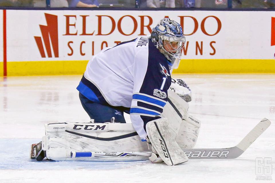 Comrie on pelannut urallaan neljä NHL-ottelua.