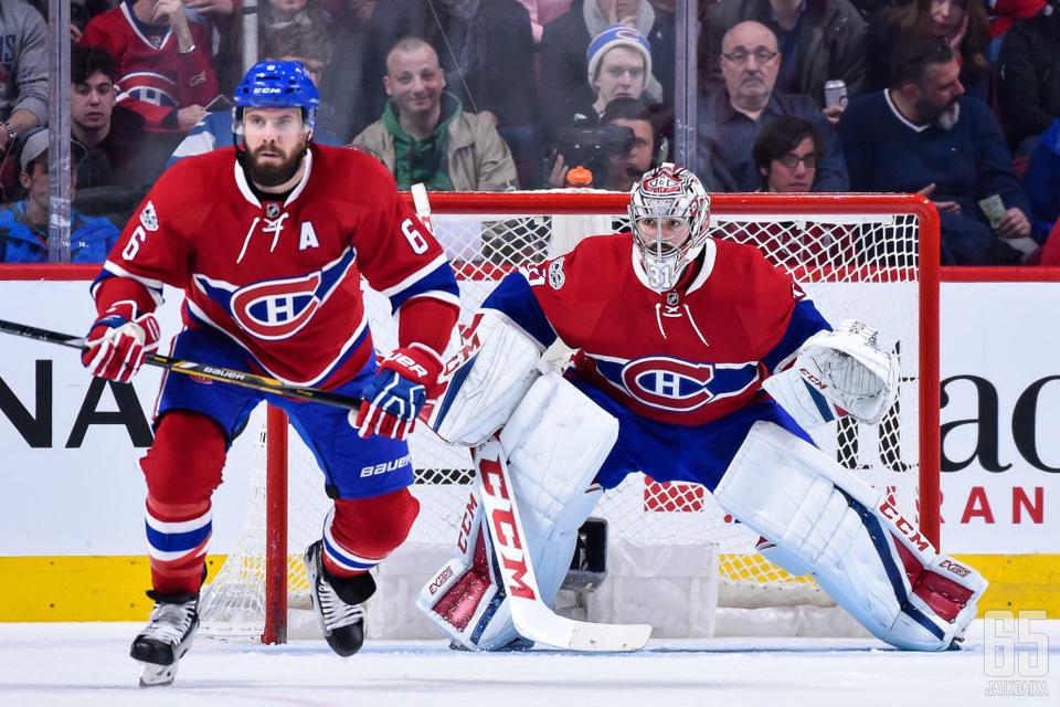 Shea Weber ja Carey Price ovat Canadiensin ikääntyvää selkärankaa.