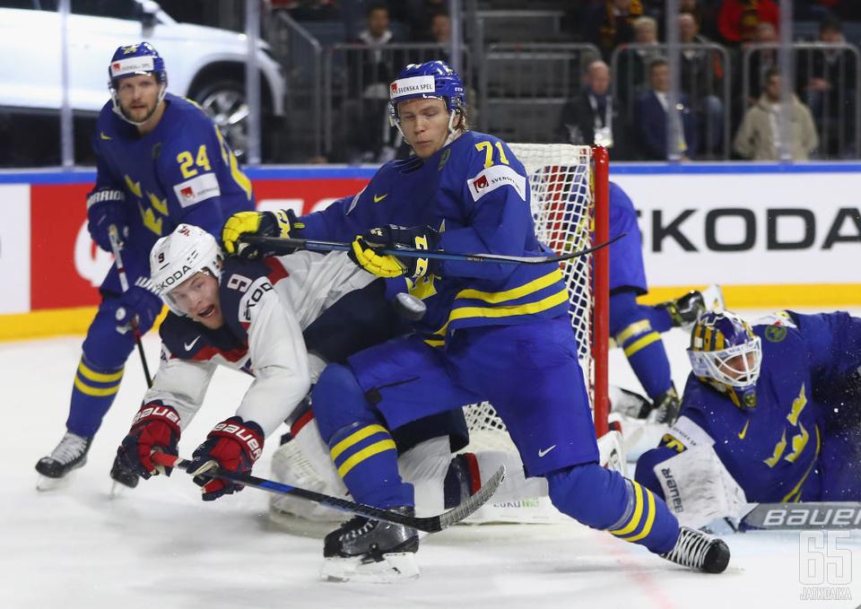 Copp vastasi voittomaalista Latviaa vastaan.