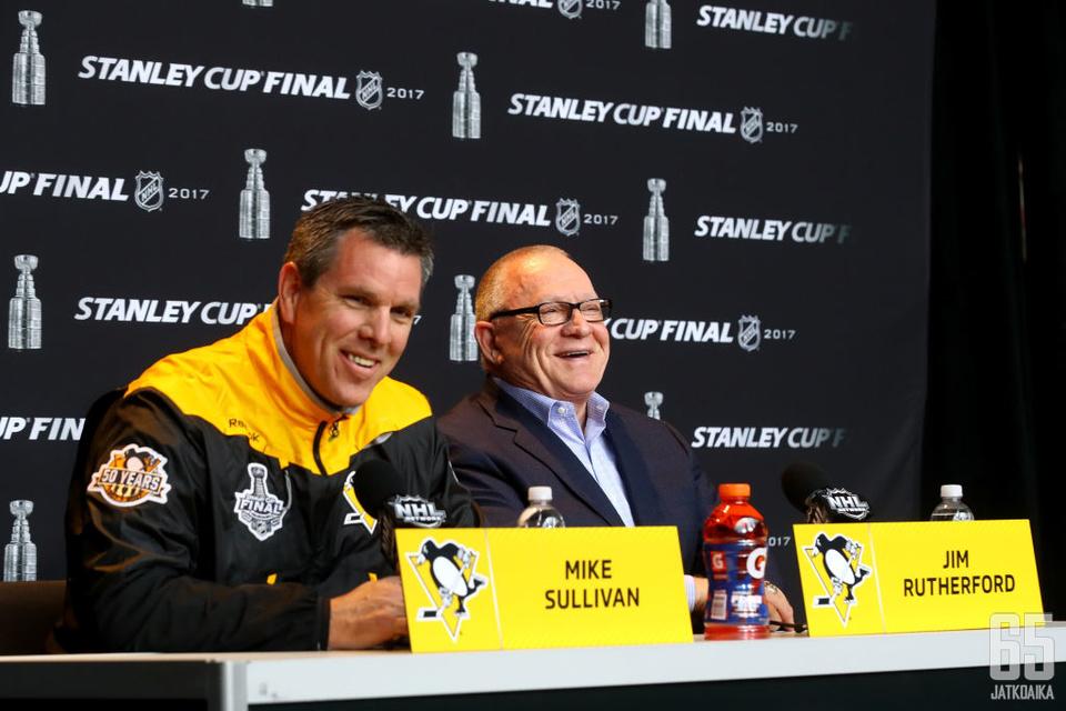 Penguins on voittanut tämän kaksikon johdolla kaksi Stanley Cupia.
