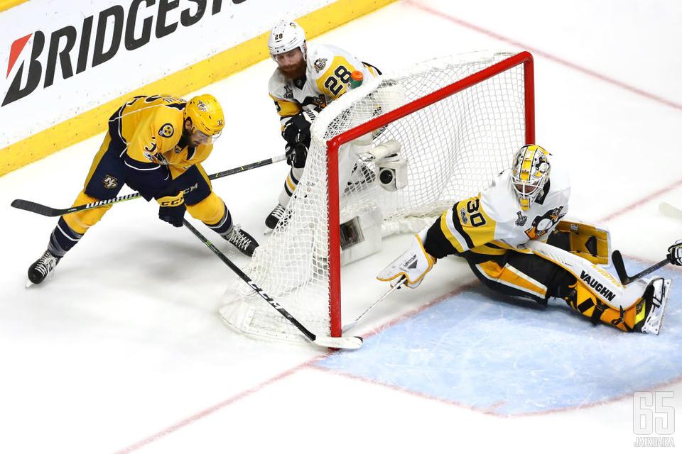 Gaudreau sivusi NHL-historiaa.