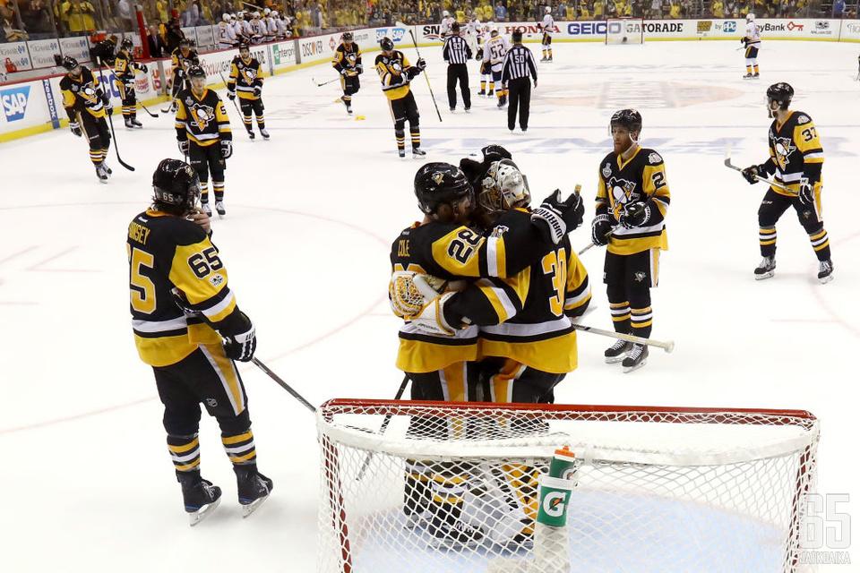Pittsburgh Penguins oli mykistävän ylivoimainen viidennessä pelissä.