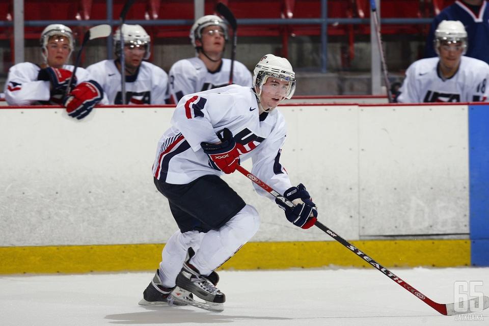 Nuorisomaajoukkueissa pelannut Cade Fairchild tulee Kuopioon.