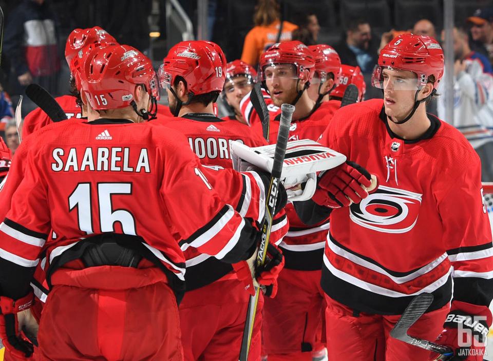 Saarelan NHL-ura jäi toistaiseksi yhden pelin mittaiseksi.