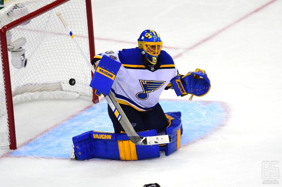 Jake Allen jatkaa Montreal Canadiensissa seuraavat kaksi kautta.