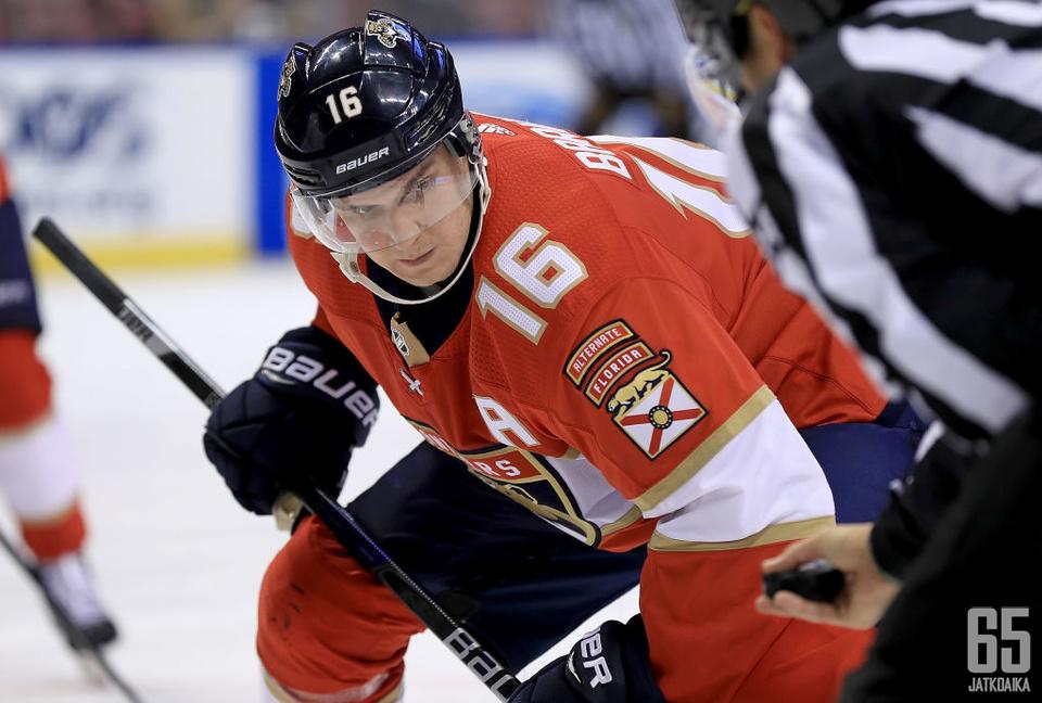 Aleksander Barkov lähtee tulevaan kauteen Florida Panthersin uutena kapteenina.