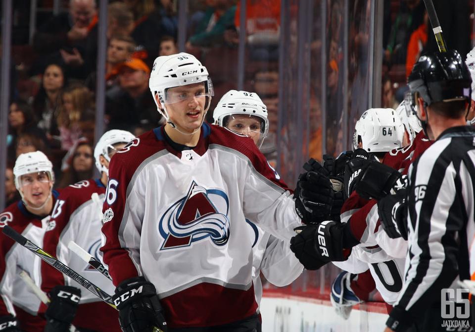 Viime kausi ei ollut sattumaa: Mikko Rantanen on yksi NHL:n tehokkaimmista hyökkääjistä.