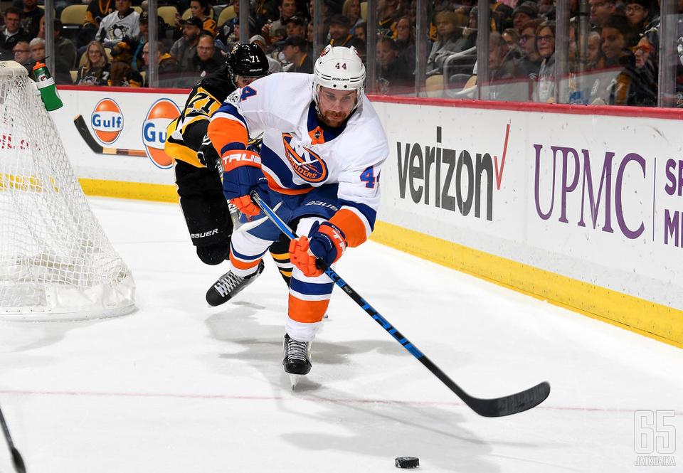 Calvin De Haan on pelannut aiemman NHL-uransa New York Islandersissa.