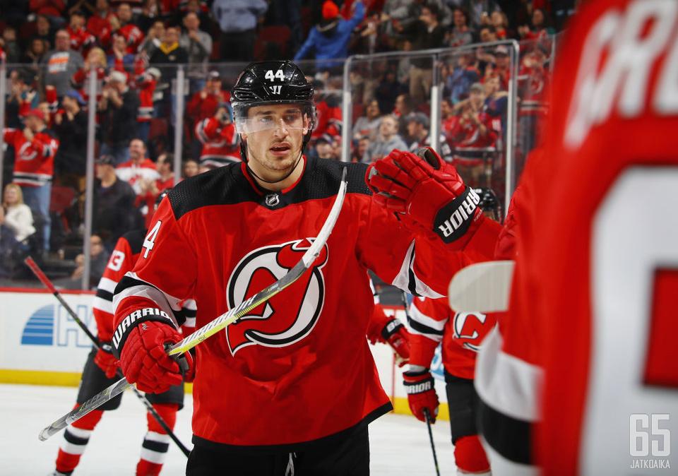 Woodilla on allaan uransa paras NHL-kausi.