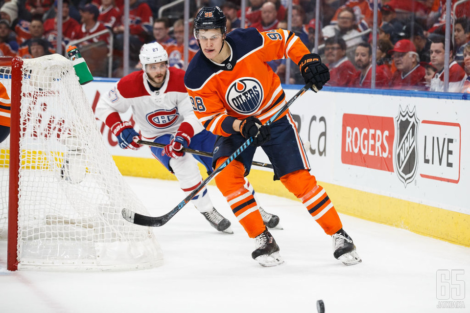 Puljujärvi on päässyt tällä kaudella kunnolla NHL-vauhtiin.