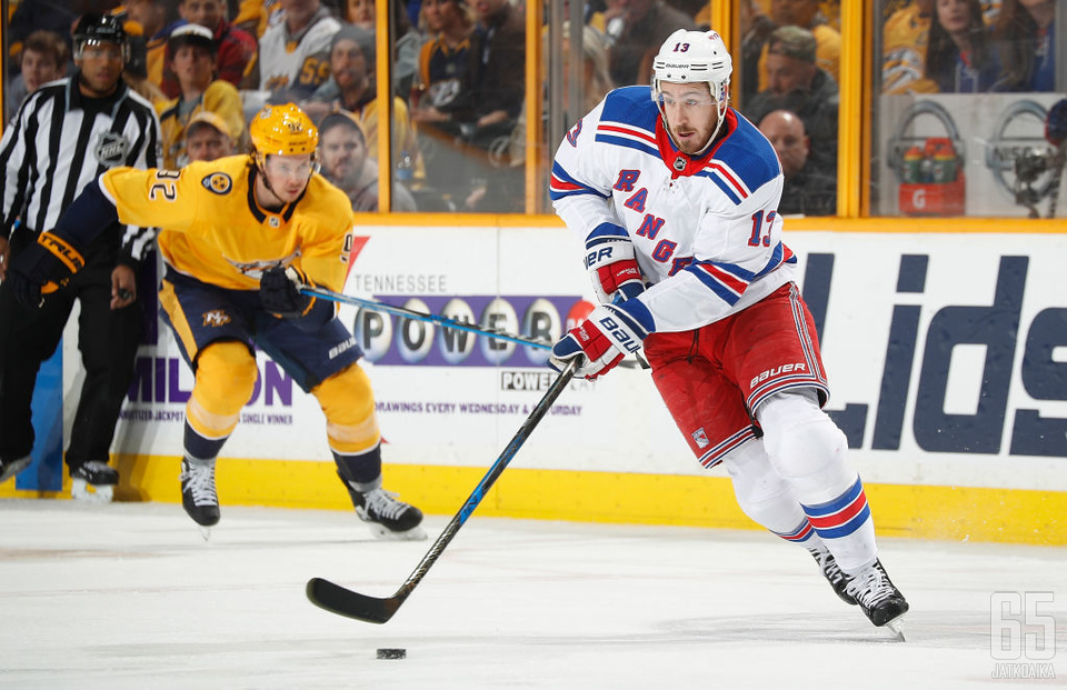 Hayes on tärkeä osa Rangersin hyökkäystä.