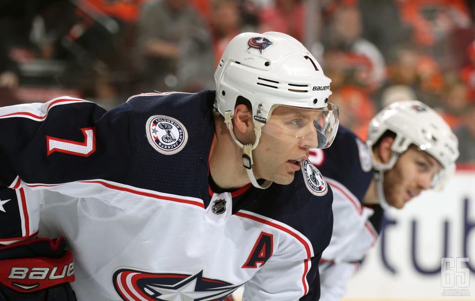 Viime kausi oli Jack Johnsonille pettymys, mutta toi silti viisivuotisen rahakkaan NHL-sopimuksen.