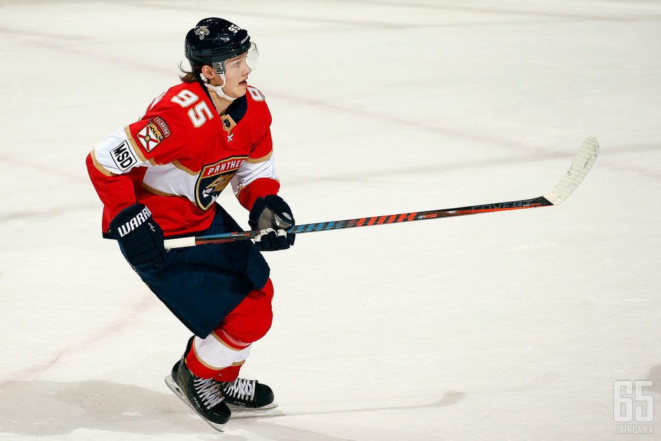 Borgström on pelannut Florida Panthersissa NHL:ää.