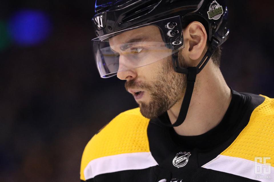 Adam McQuaid on edustanut Bruinsia koko tähänastisen NHL-uransa ajan.