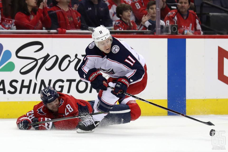 Jään pinnassa kamppaileva Jerabek siirtyy Oilersiin.