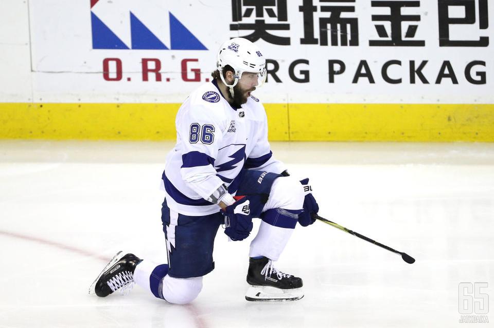 Kutšerov oli viime kaudella NHL:n pistepörssin kolmas.