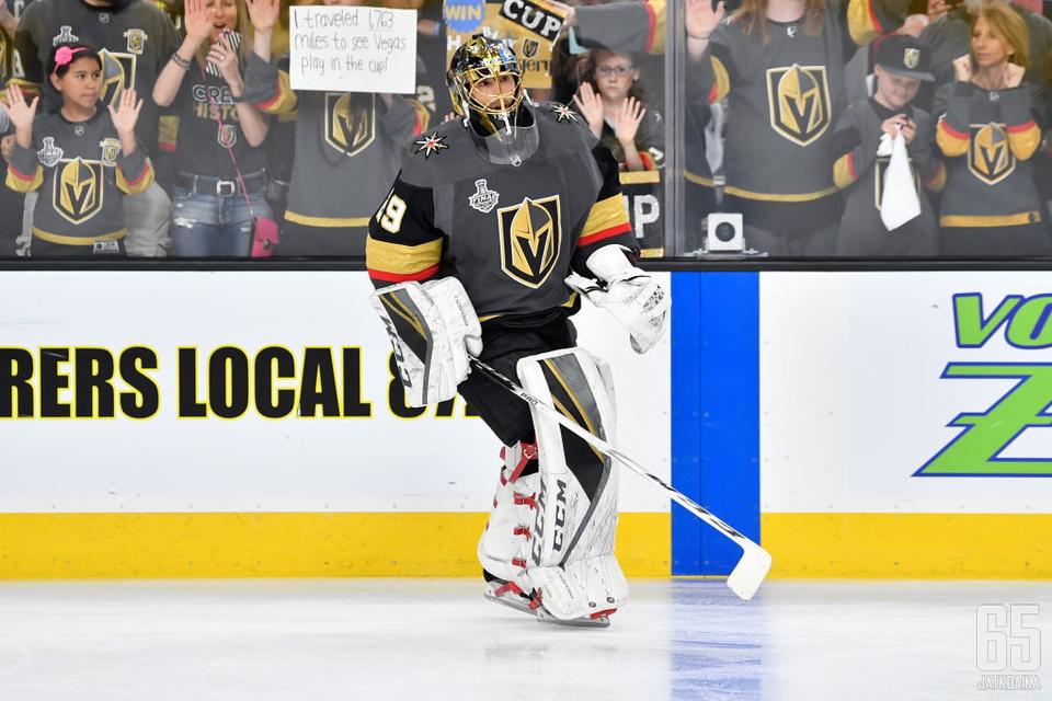 Fleury jatkaa Las Vegasissa nykyisen sopimuksen jälkeenkin.