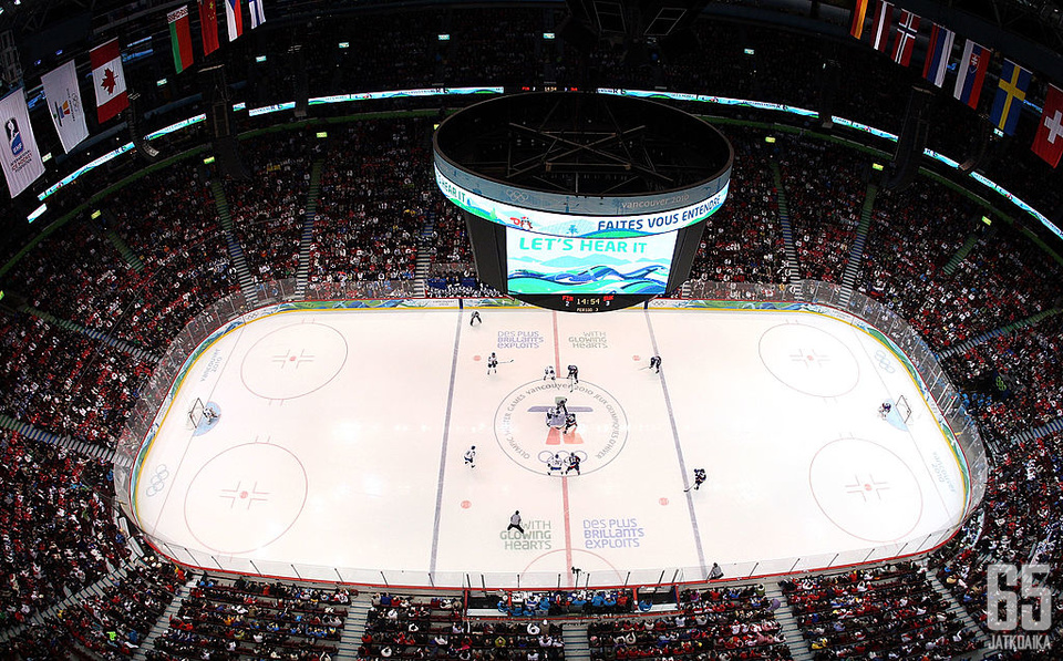 Olympialaisiakin isännöinyt Rogers Arena saa NHL:n varaustilaisuuden järjestettäväkseen.