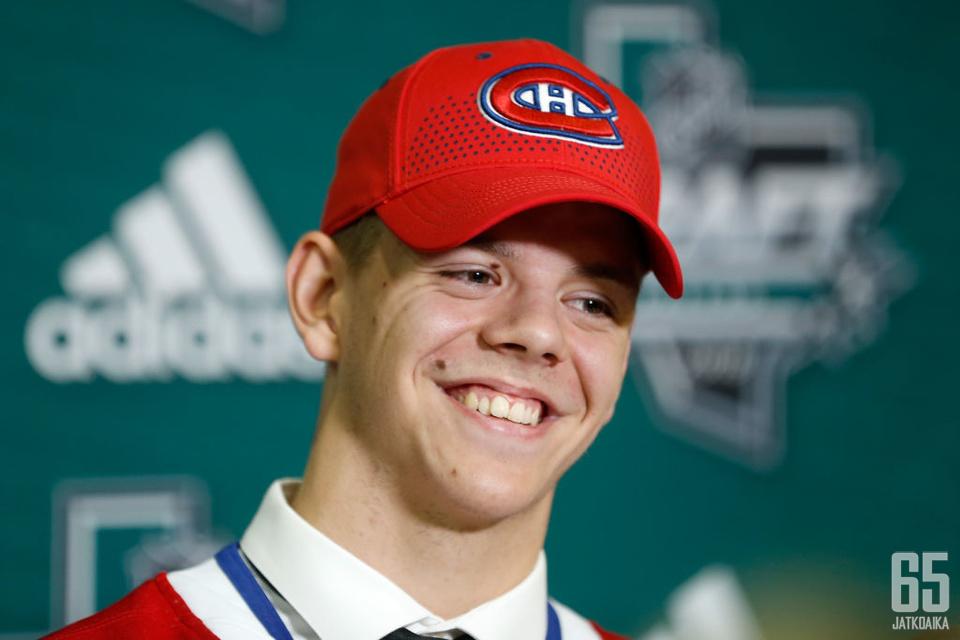 Kotkaniemi hyppää Liigasta suoraan NHL:ään.