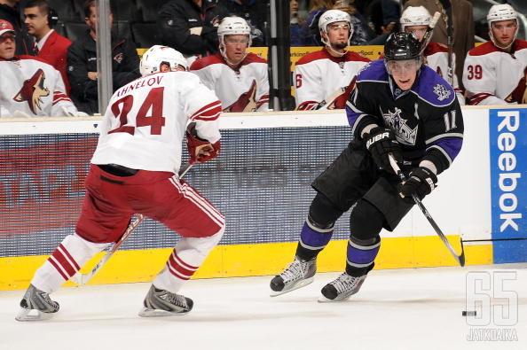 Ahnelöv on tuttu näky myös NHL-kaukaloista.
