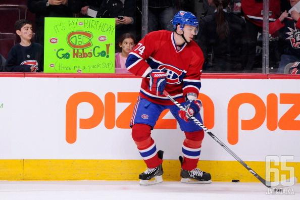 Jemelin jatkaa Montrealissa kovaa peliään.